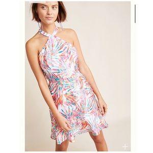 NWT Anthropologie Hutch Maui Halter Dress